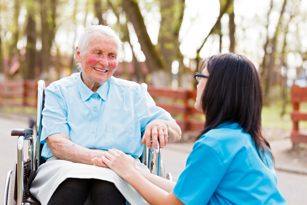 Work as a caregiver