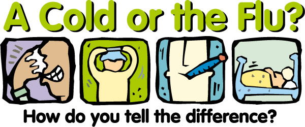 Differences Between Flu And Cold