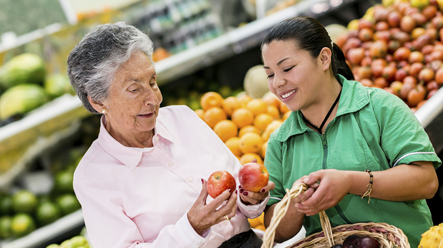 Four Tips On How Elders Can Save Money on Groceries