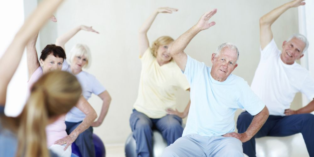 Group Fitness Classes for Seniors 1