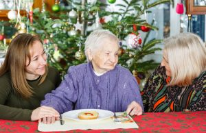 celebrating the holidays in a nursing home