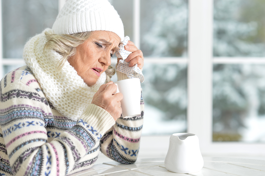 Cold and flu prevention tips for elderly and caregivers