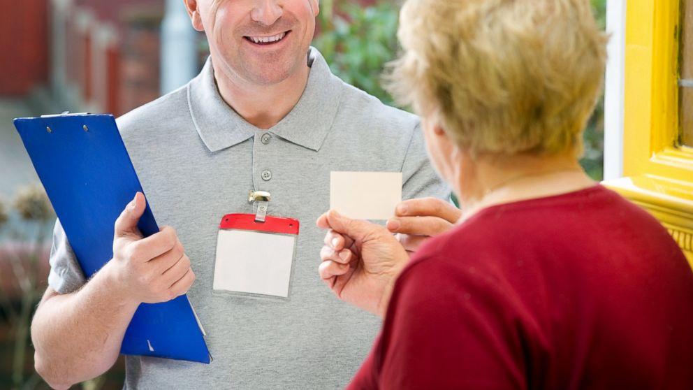 prevent door-to-door scams