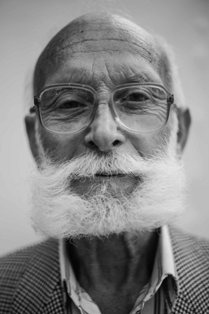 losing hair in the elderly