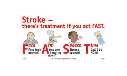 Recognize Signs of Stroke and Act F.A.S.T.